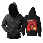 Merch Hoodie Epica We Will Take You With Us Pullover