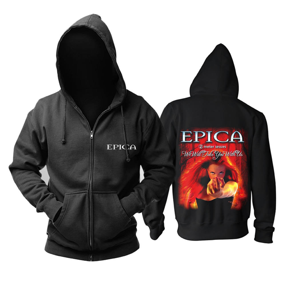 Collectibles Hoodie Epica We Will Take You With Us Pullover