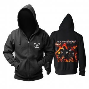 Collectibles Hoodie Black Veil Brides Set The World On Fire Pullover