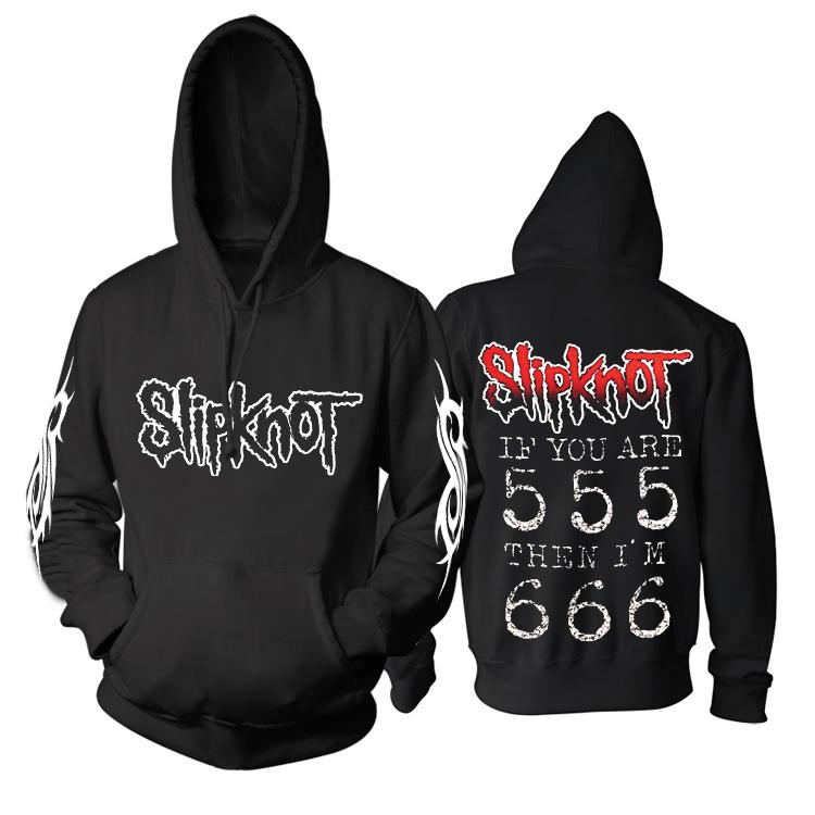 Merchandise Hoodie Slipknot Heavy-Metal Music Pullover