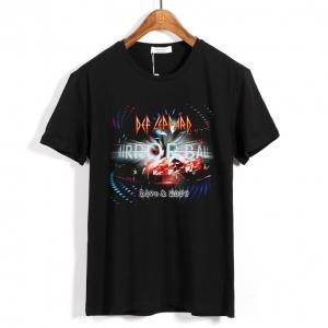 Merch T-Shirt Def Leppard Mirrorball: Live &Amp; More