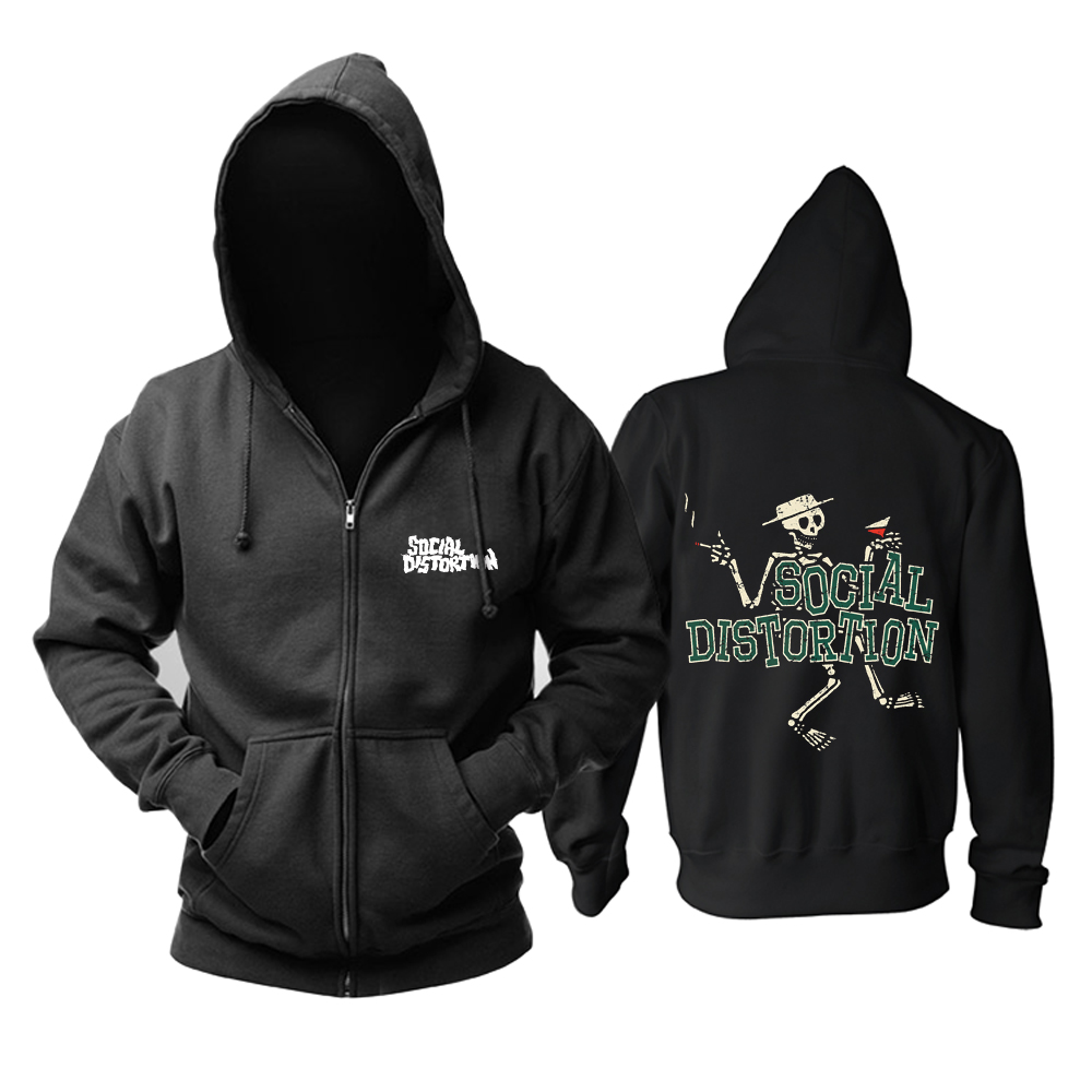 Collectibles Hoodie Social Distortion Logo Pullover