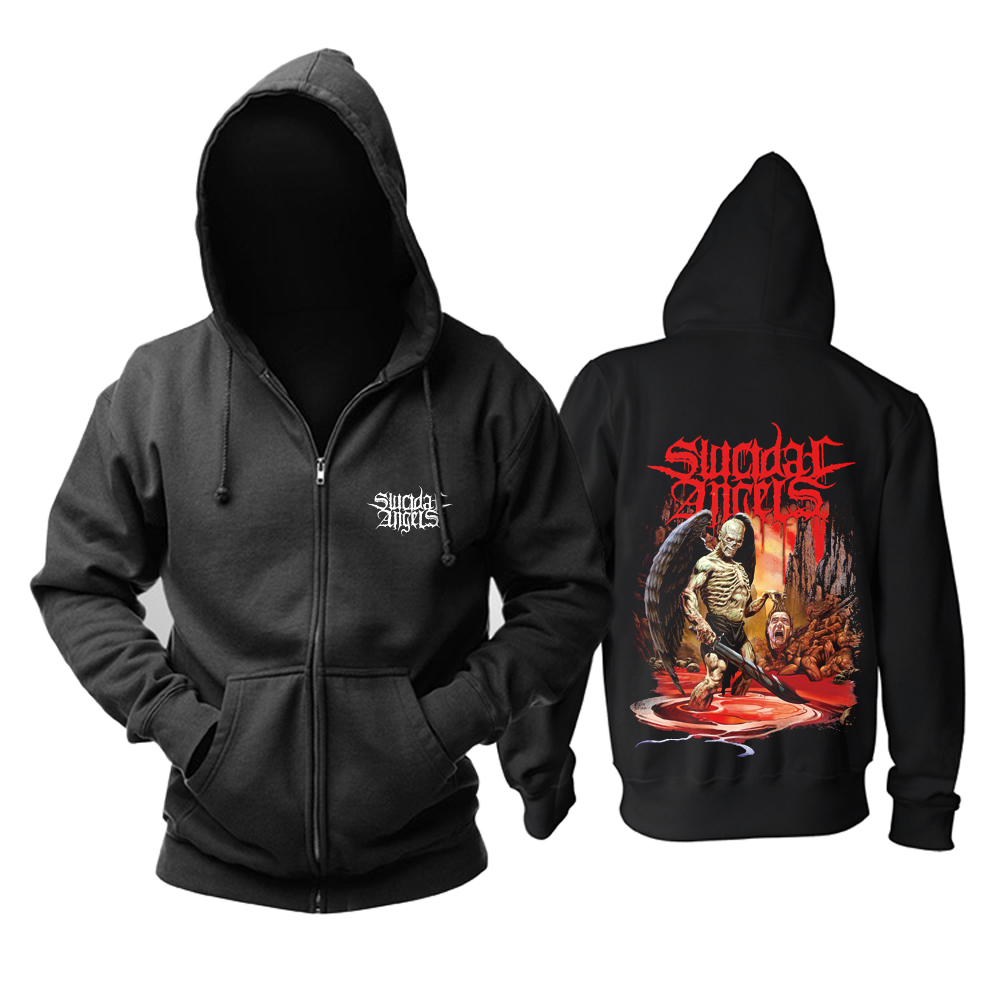 Collectibles Hoodie Suicidal Angels Bloodbath Pullover