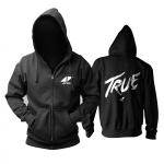 Merch Hoodie Avicii True Logo Black Pullover