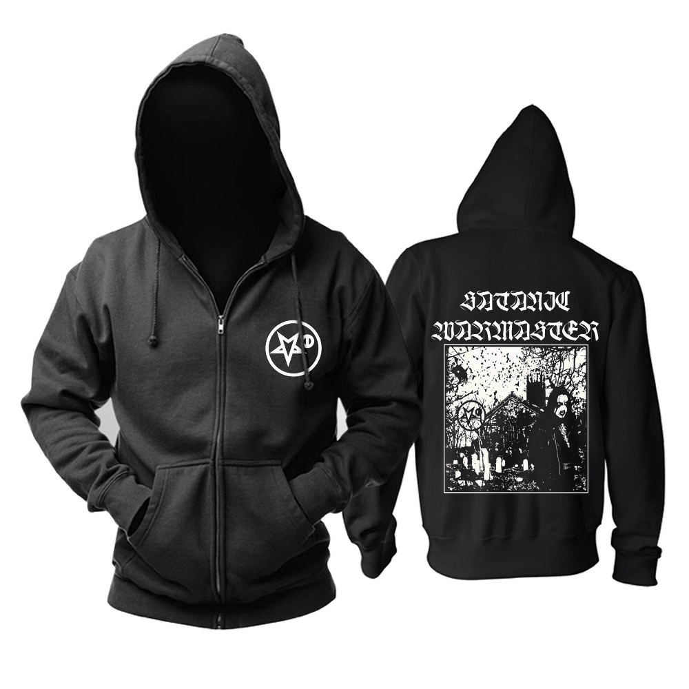 Collectibles Hoodie Satanic Warmaster Strength &Amp; Honour Pullover