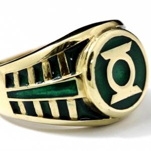 Buy New Flat Green Lantern Ring