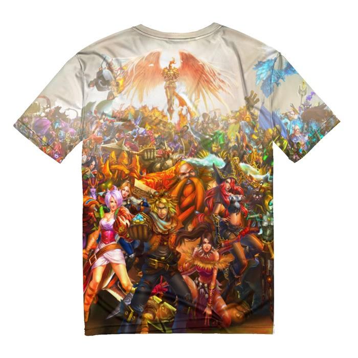 Merch T-Shirt League Of Legends