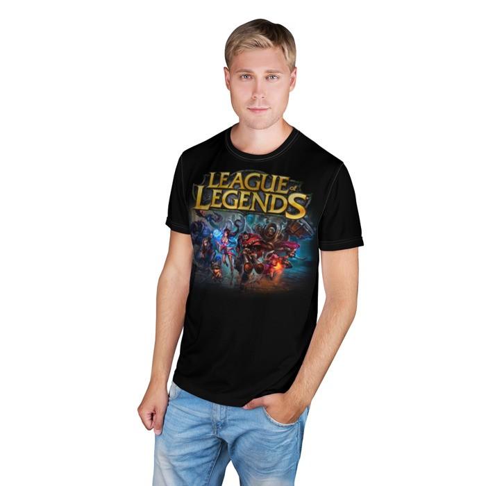 Merch T-Shirt Lol Heroes 1 League Of Legends