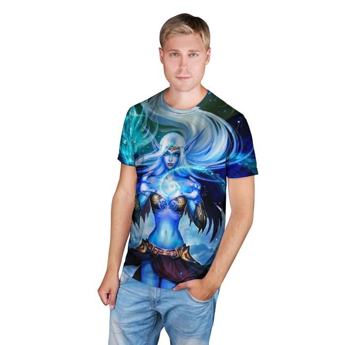 Merchandise T-Shirt Elf Blue Web Art League Of Legends