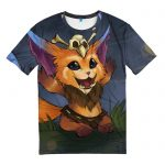 Merchandise T-Shirt Champion Gnar League Of Legends