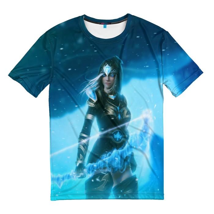 Collectibles T-Shirt Frozen Ice League Of Legends