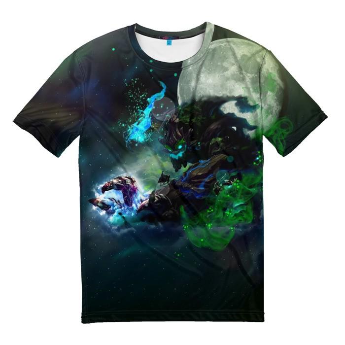 Merchandise T-Shirt Moon League Of Legends