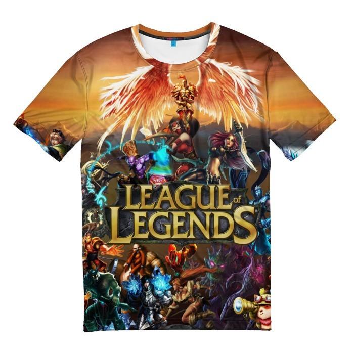Merch T-Shirt League Of Legends All