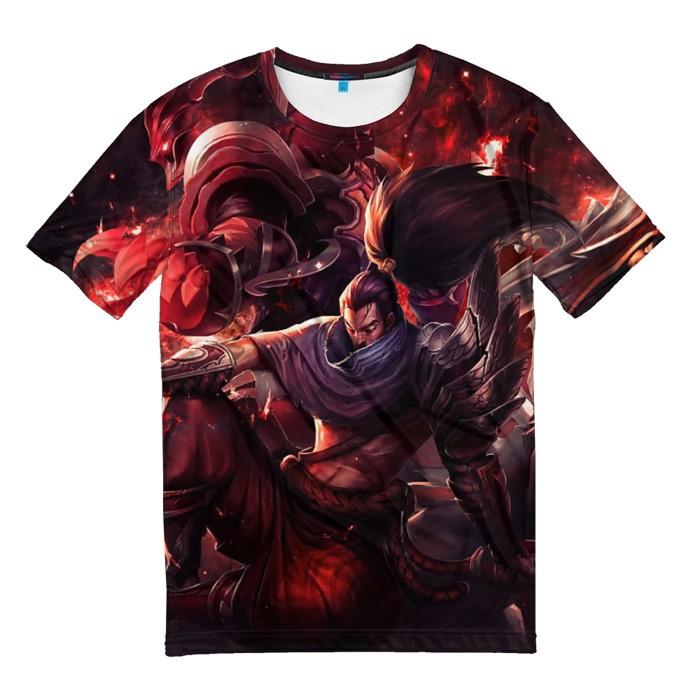 Merchandise T-Shirt Red League Of Legends Tees
