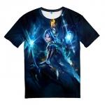 Merchandise T-Shirt Blue League Of Legends