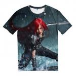 Merch T-Shirt Katarina Skins League Of Legends