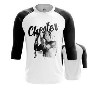 Merchandise Raglan Chester Bennington Linkin Park White