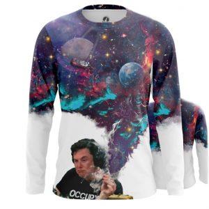 Merchandise Long Sleeve Elon Into Space Humor Tee