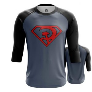 Merchandise Raglan Superman Red Son Dc Comics