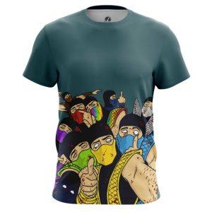 Merch T-Shirt Mk Ninja Friends Game Tee