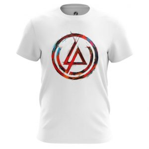 Merchandise T-Shirt Linkin Park Logo White Tee