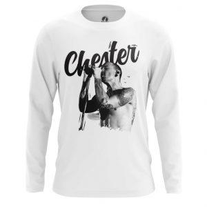 Merchandise Long Sleeve Chester Bennington Linkin Park White