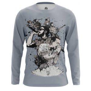 Merchandise Long Sleeve Linkin Park Rock Band Art Tee