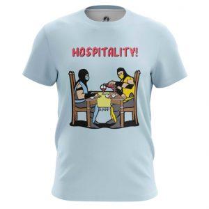 Merch T-Shirt Hospitality Game Mortal Kombat Tee
