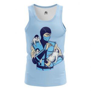 Merch Tank Sub Zero Penguins Game Tee Singlet Vest