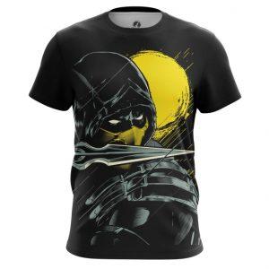 Merch T-Shirt Scorpion Mk Game Mortal Kombat Tee