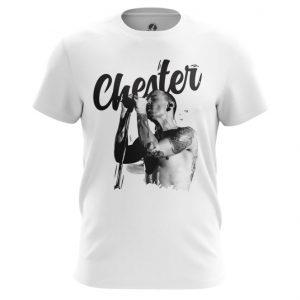 Merchandise T-Shirt Chester Bennington Linkin Park White