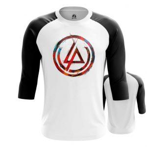 Merchandise Raglan Linkin Park Logo White