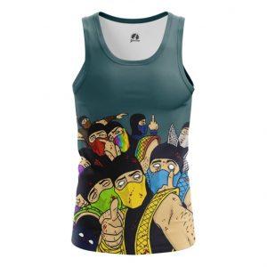 Merch Tank Mk Ninja Friends Game Tee Singlet Vest