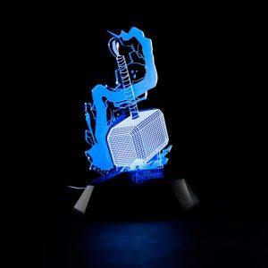 Merch Night Light 3D Lamp Thor Hammer Model Inspired