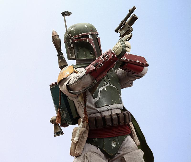 Merchandise Hot Toys Figure Bobba Fett Star Wars 1:4 Scale
