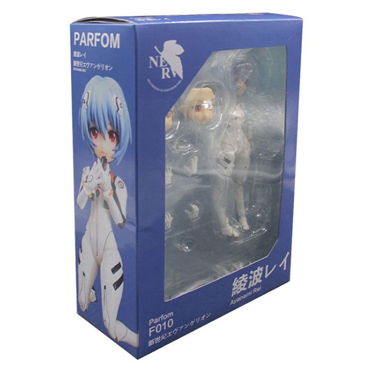 Merch Action Figure Evangelion Eva Rei Ayanami 14Cm