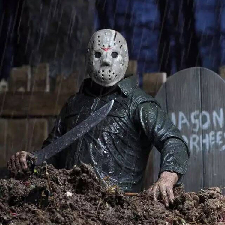 Collectibles Action Figure Jason Voorhees 1980 Friday 13Th Part 5 18Cm