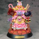 Merch Action Figure Big Mom One Piece Scale Collectible 25Cm