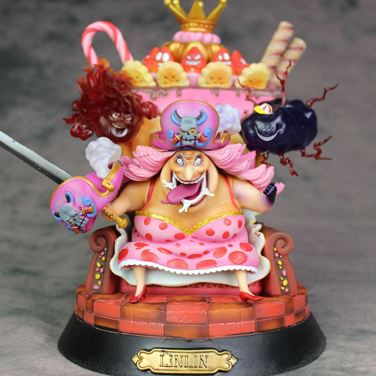 Collectibles Action Figure Big Mom One Piece Scale Collectible 25Cm