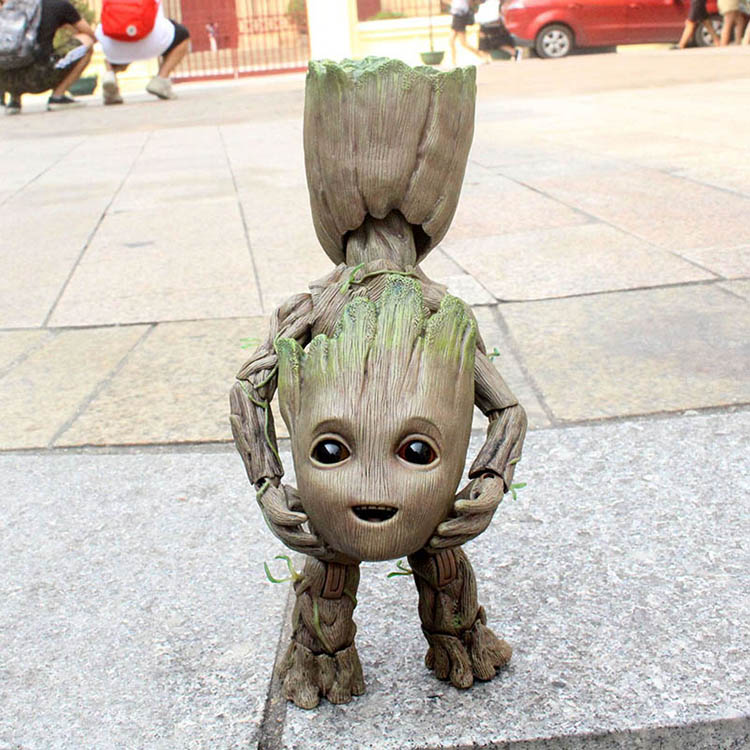 Merch Action Figure Baby Groot Guardians Of The Galaxy 2 Scale 25Cm