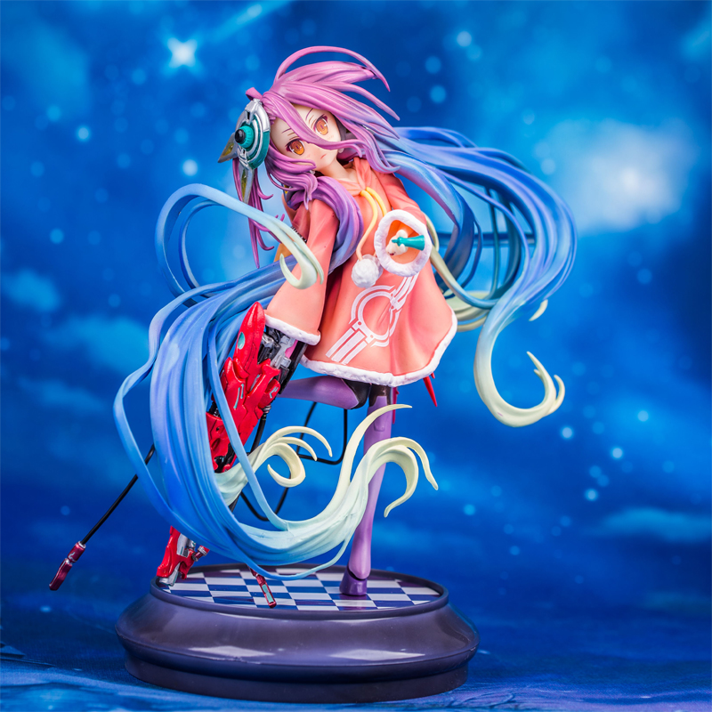 Merch Scale Figure No Game No Life Anime Series 20Cm