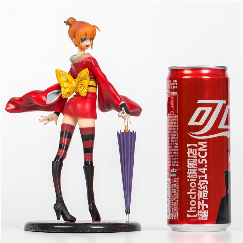Merchandise Scale Figure Kagura Gintama Lady Anime Series 19Cm