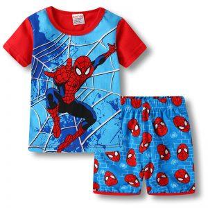 Merchandise - Kids T-Shirts Shorts Set Spider-Man Peter Parker