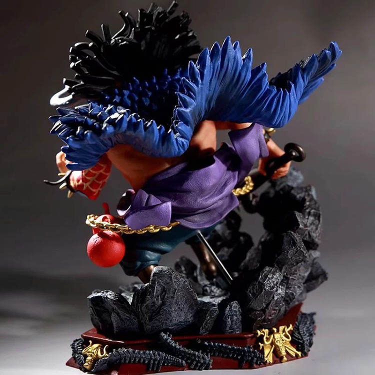 Merchandise Action Figure Kaido One Piece Scale Collectible 19Cm
