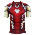 Merchandise Rashguard Iron Man Mk85 Armor Costume