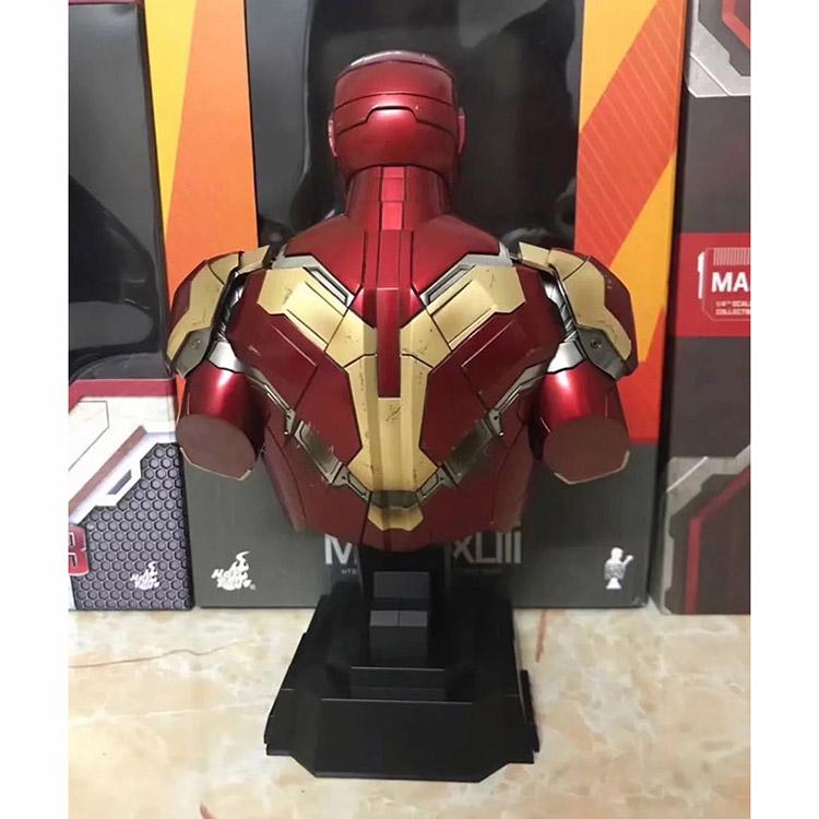 Merch Scale Bust Iron Man Mk43 Armor Collectible 23Cm