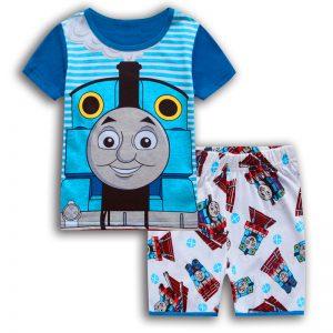 Merchandise Kids T-Shirts Shorts Set Thomas The Train Cotton
