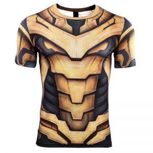 Merchandise Thanos Rashguard Armor Shirt Avengers 4