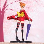 Merch Scale Figure Kagura Gintama Lady Anime Series 19Cm