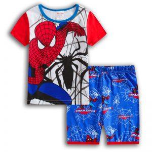 Merchandise - Kids T-Shirts Shorts Set Spider-Man Black Venom